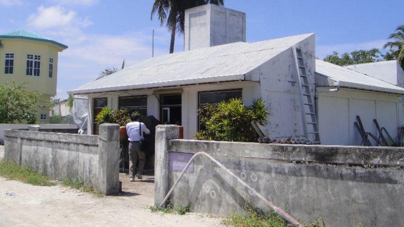 Solar PV experts team visits Dhiffushi island