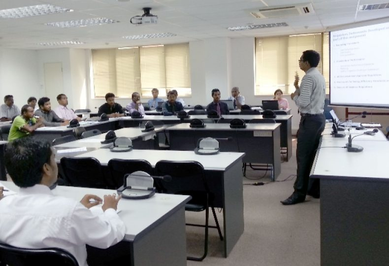 Workshop on developing regulatory framework for the energy sector