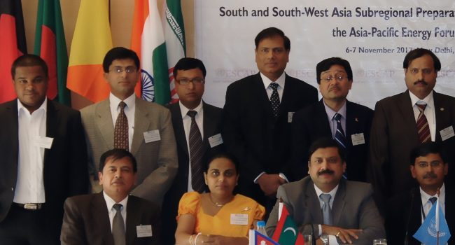 Maldives participates in the Sub-regional Consultation Meeting on Energy Access and Energy Security